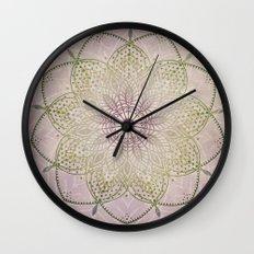 Vintage Mandala Wall Clock