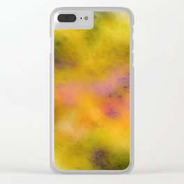 Fuzzy logic Clear iPhone Case