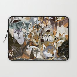 Wolves o´clock (Time to Wolf) Laptop Sleeve