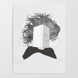 Stay positive - reading Poster