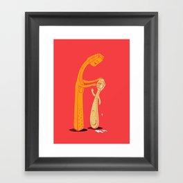 Good morning!!! Framed Art Print