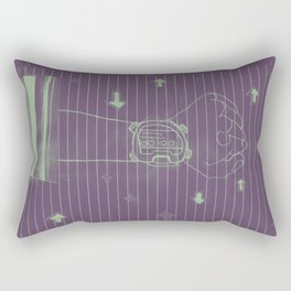talkin about visions. Rectangular Pillow