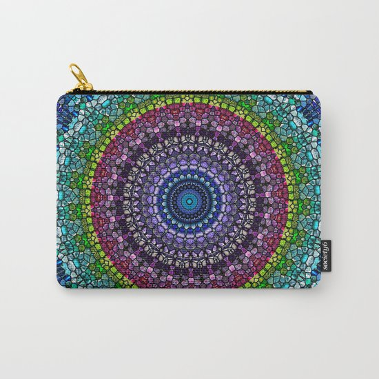 Magical Gems Kaleidoscope Carry-All Pouch