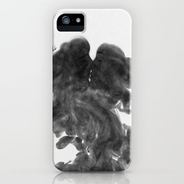 Smokey kiss. iPhone Case