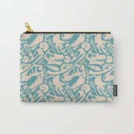 Fossil Pattern Carry-All Pouch