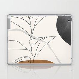 Abstract Art /Minimal Plant Laptop & iPad Skin