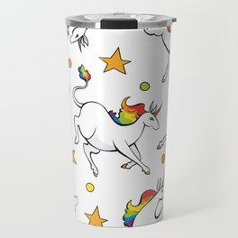 Unicorn Party Travel Mug
