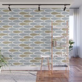 shoal of herring Wall Mural