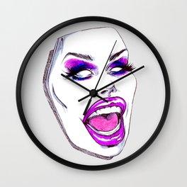 Yasss Queen Wall Clock