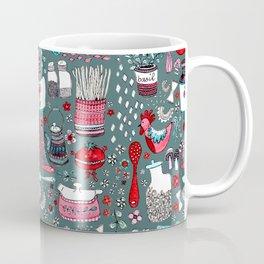 Pyrex and Pasta Coffee Mug