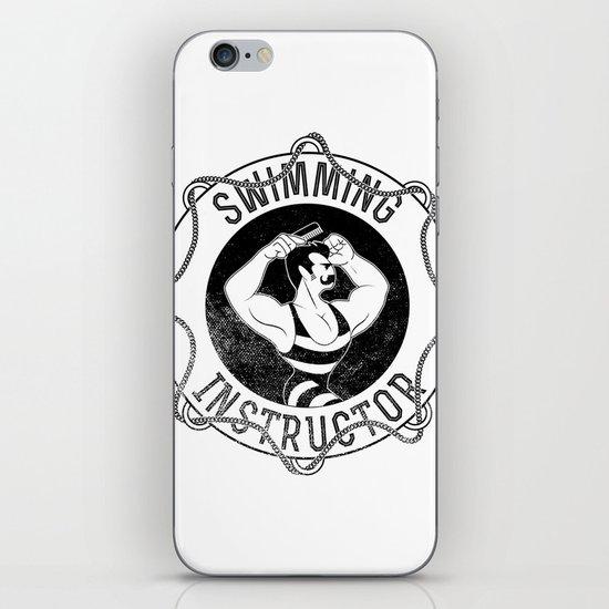 Swimming instructor iPhone & iPod Skin