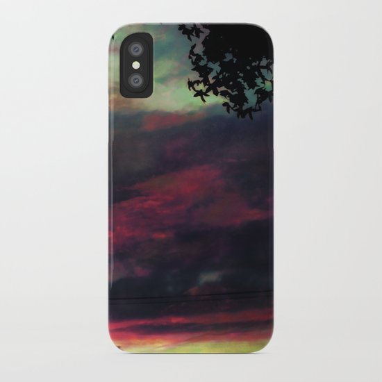 Thick as the Day's End iPhone Case
