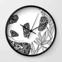 Pop In Panda Wall Clock
