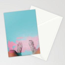Both Feet In #society6 #buyart Stationery Cards