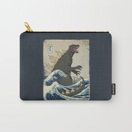 The Great Godzilla off Kanagawa Carry-All Pouch