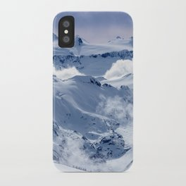 Snowy Mountains and Glaciers iPhone Case