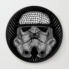 Trooper Star Circle Wars Wall Clock