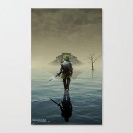 The hardest battle lies within Canvas Print