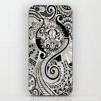 maori iPhone & iPod Skins featuring Maori tribal design by Noah's ART