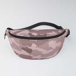 Camouflage Taupe Brown Fanny Pack