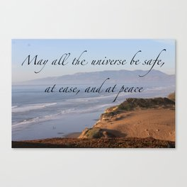 MAY ALL THE UNIVERSE Canvas Print