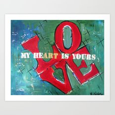 My Art is Yours Art Print