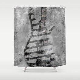 STONE GROOVE Shower Curtain