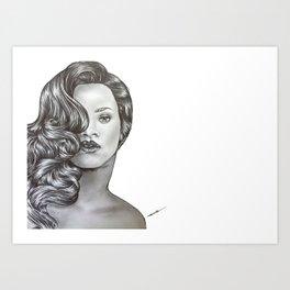 """Vogue Riri"" Art Print"