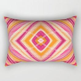 Fuchsia Diamond Rectangular Pillow