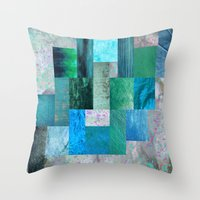blues Throw Pillows featuring blues by Last Call