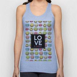 Love is sweet. Unisex Tank Top