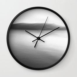 """We'd blacken each other skies"" Wall Clock"