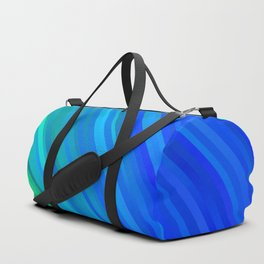 stripes wave pattern 1 stdv Duffle Bag