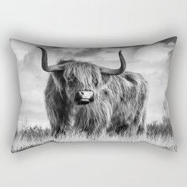 Highland Bull Rectangular Pillow