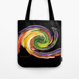 The whirl of life, W1.9B Tote Bag