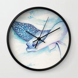 Eagle Ray Wall Clock