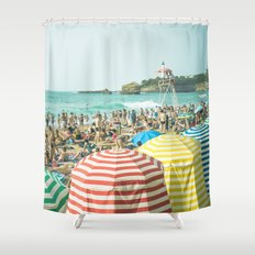 Colorful holiday Shower Curtain