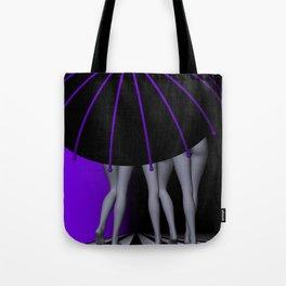 go violet -06- Tote Bag