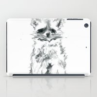 racoon iPad Cases featuring Wild Racoon by Girard Camille