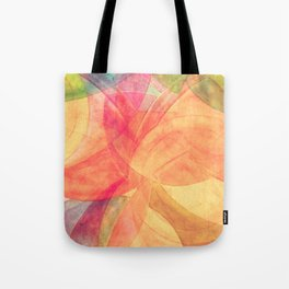 Circular Deconstruction Tote Bag