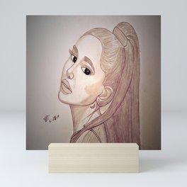 Ariana by Double R Mini Art Print