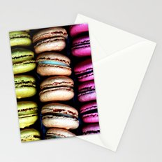 Petits macarons Stationery Cards