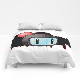 The Red Bomber  Comforters