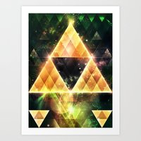 triforce Art Prints featuring Triforce by Spires