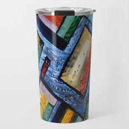 Alan J Eichman Abstract 0009 Travel Mug