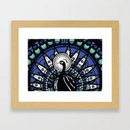 Immortal Pavo Framed Art Print