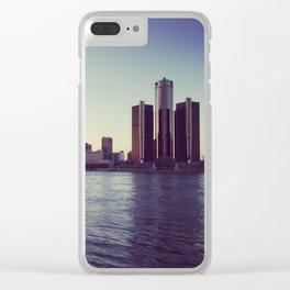 serene detroit. Clear iPhone Case