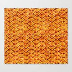 Digital knitting pattern Canvas Print