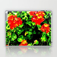 Red Flowers (Edited)  Laptop & iPad Skin