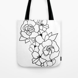 Floral Roots Tote Bag